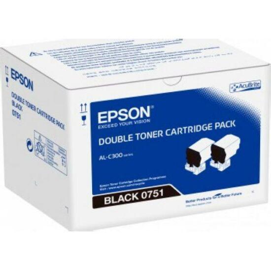 Epson C300 fekete dupla eredeti toner