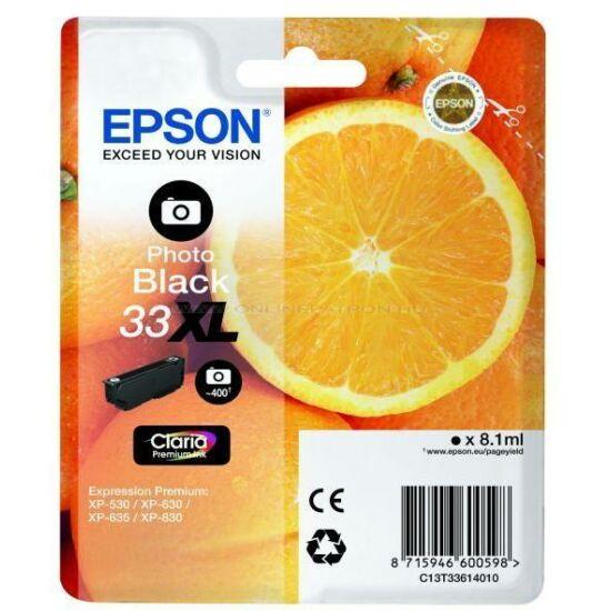 Epson T3361 fekete fotó eredeti tintapatron
