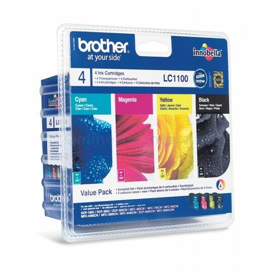 Brother LC1100 eredeti tintapatron multipack