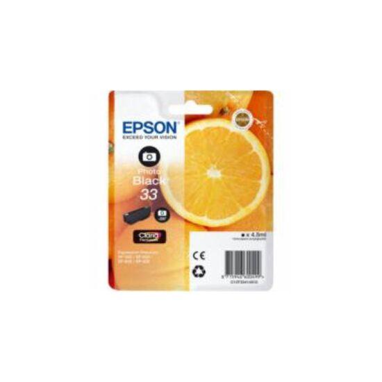Epson T3341 fotó fekete eredeti tintapatron