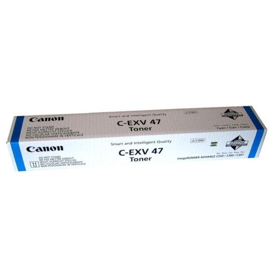 Canon IRC250 kék eredeti toner (C-EXV47)