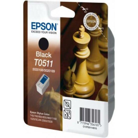 Epson T0511 fekete eredeti tintapatron