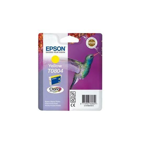 Epson T0804 sárga eredeti tintapatron