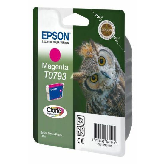 Epson T0793 magenta eredeti tintapatron