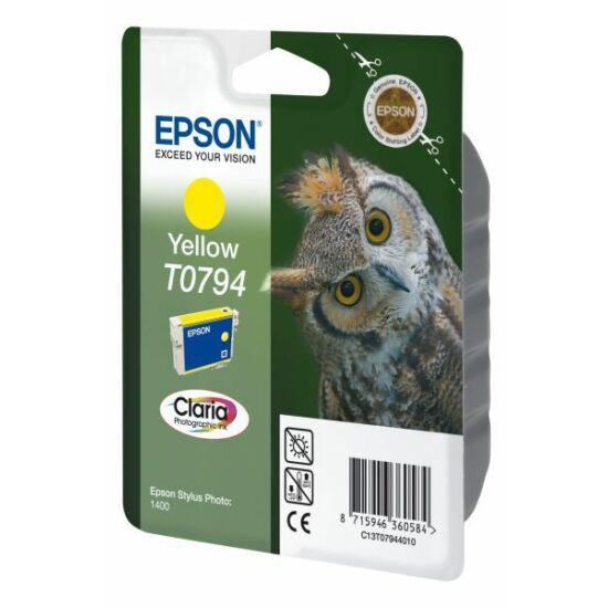 Epson T0794 sárga eredeti tintapatron