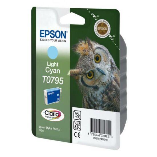 Epson T0795 világos kék eredeti tintapatron