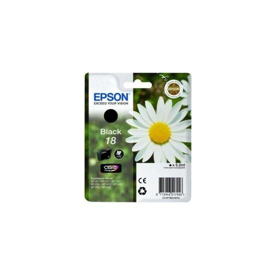 Epson T1801 fekete eredeti tintapatron