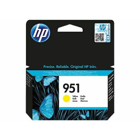 HP CN052AE No.951 sárga eredeti tintapatron