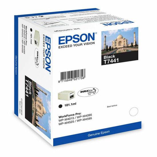 Epson T7441 fekete eredeti tintapatron