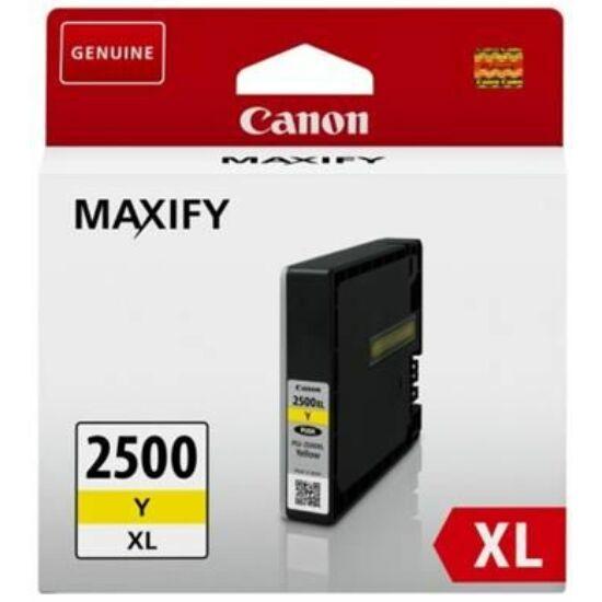 Canon PGI-2500XL sárga eredeti patron