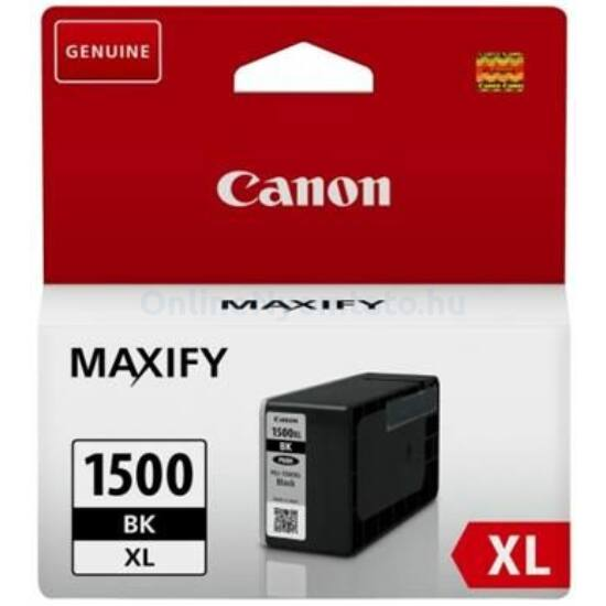 Canon PGI-1500XL fekete eredeti patron