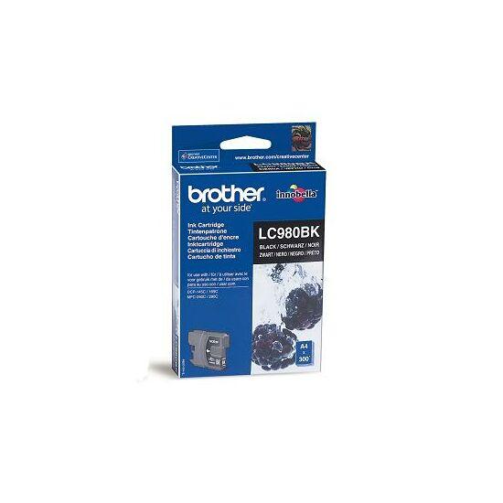 Brother LC980 fekete eredeti tintapatron