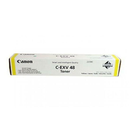 Canon C-EXV48 sárga eredeti toner