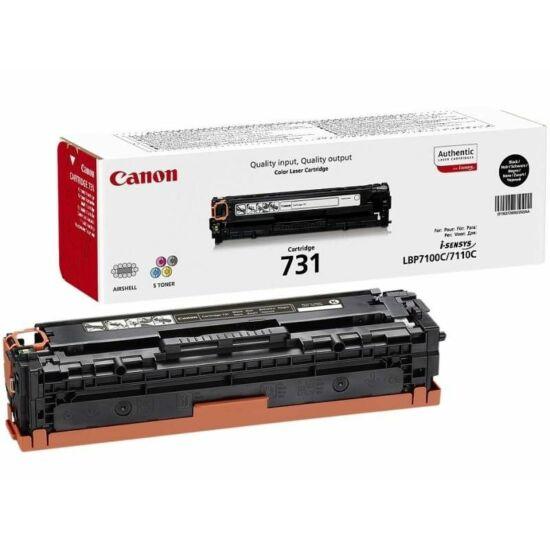 Canon CRG-731 fekete eredeti toner