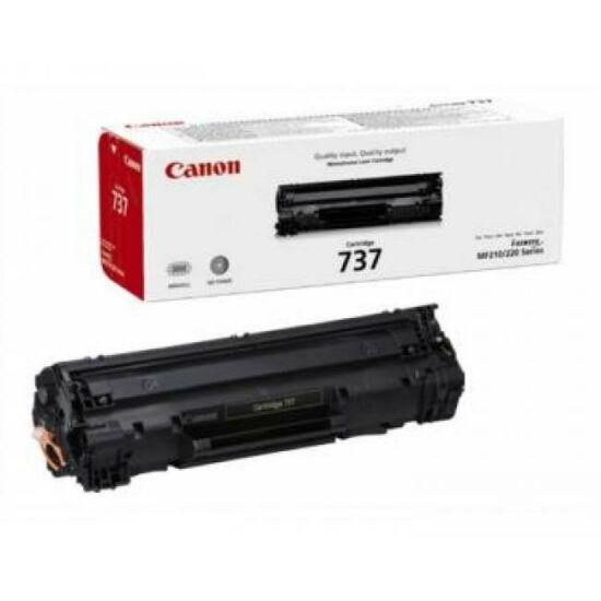 Canon CRG-737 fekete eredeti toner