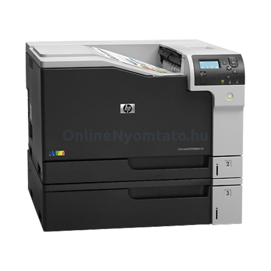 HP Color LaserJet Enterprise M750n színes lézernyomtató
