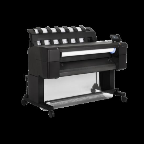 HP DesignJet T930 914-mm PostScript tintasugaras színes nyomtató titkosított merevlemezzel
