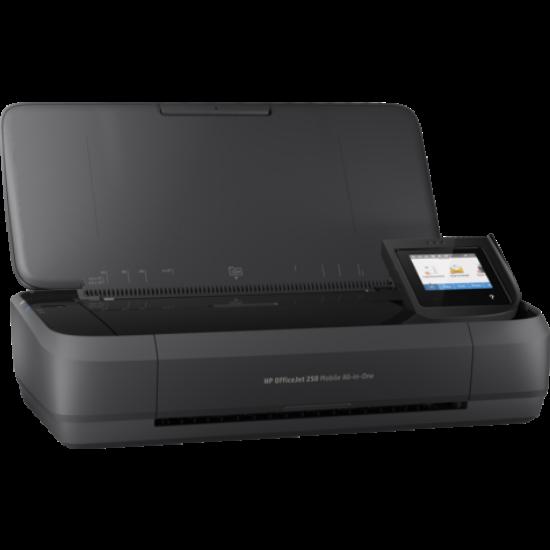 HP OfficeJet 252 mobil All-in-One tintasugaras színes nyomtató
