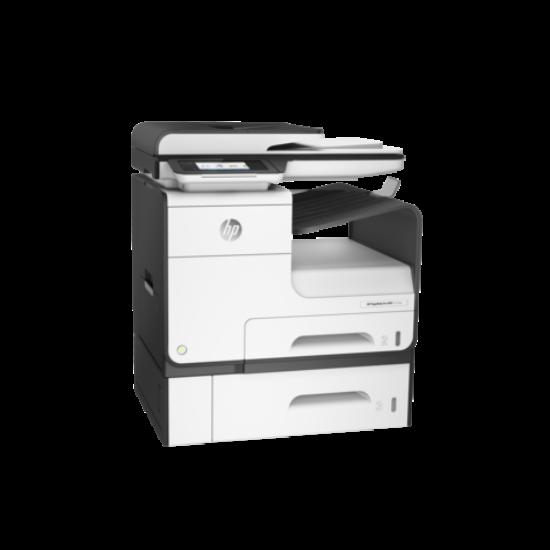 HP PageWide Pro 477dwt többfunkciós tintasugaras színes nyomtató és tálca