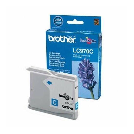 Brother LC970 kék eredeti tintapatron