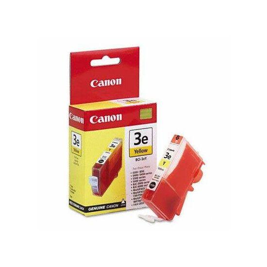 Canon BCI-3e sárga eredeti tintapatron