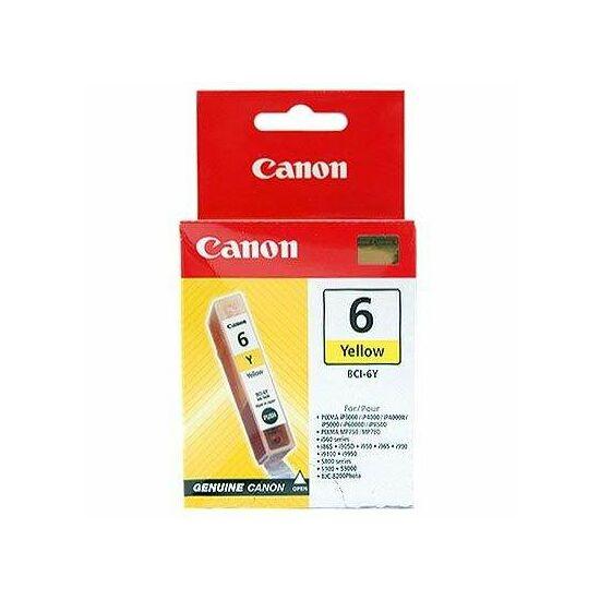 Canon BCI-6 sárga eredeti tintapatron
