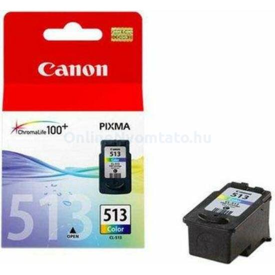 Canon CL-513 színes eredeti tintapatron