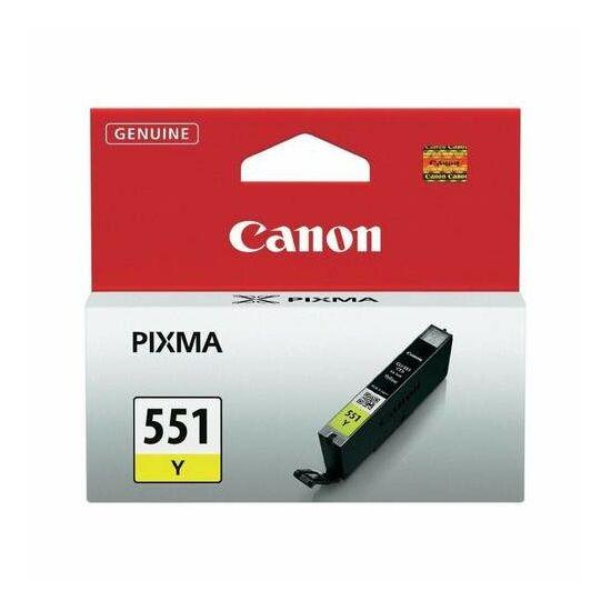 Canon CLI-551 sárga eredeti tintapatron