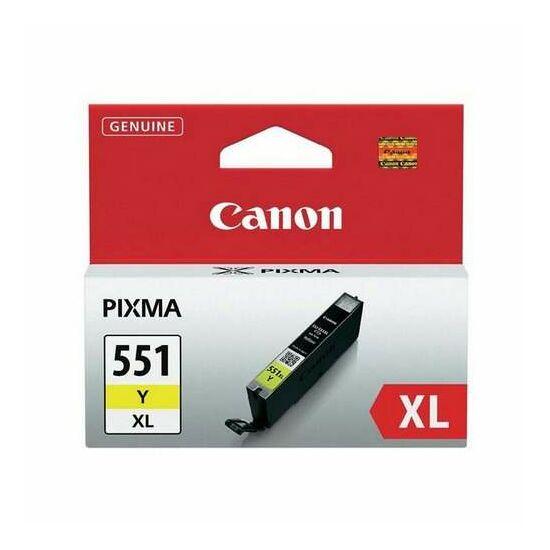 Canon CLI-551XL sárga eredeti tintapatron