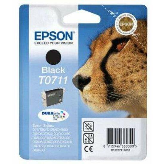 Epson T0711 fekete eredeti tintapatron