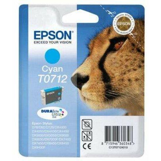 Epson T0712 kék eredeti tintapatron