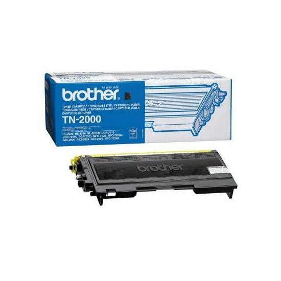 Brother TN-2000 fekete eredeti toner