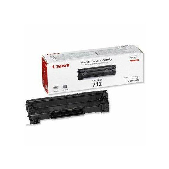 Canon CRG-712 fekete eredeti toner