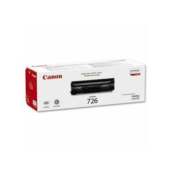 Canon CRG-726 fekete eredeti toner