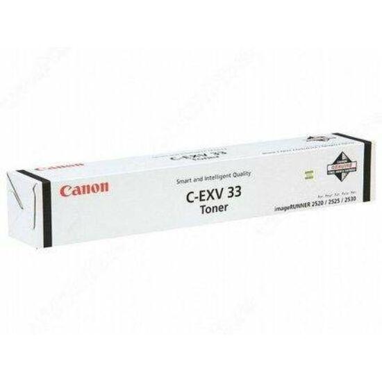 Canon IR2520 fekete eredeti toner (CEXV33)