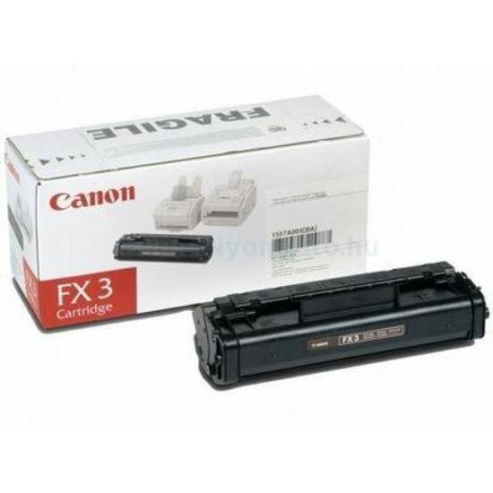 Canon FX-3 fekete eredeti toner
