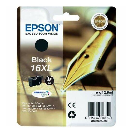Epson T1631 fekete eredeti tintapatron