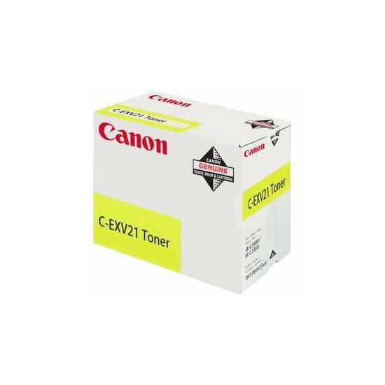 Canon C-EXV21 sárga eredeti toner
