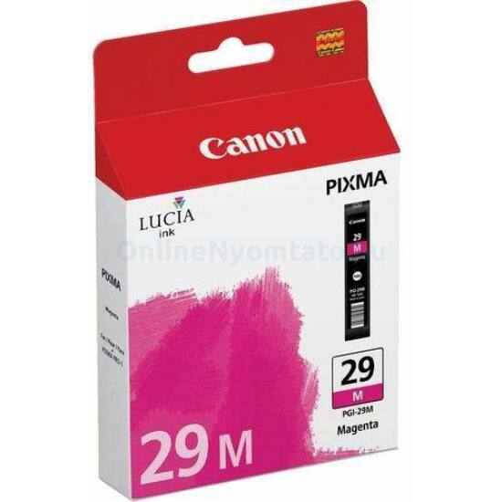 Canon PGI-29M magenta eredeti tintapatron
