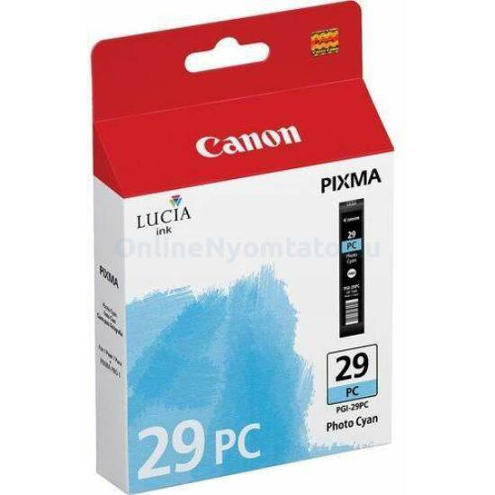 Canon PGI-29PC fotó kék eredeti tintapatron