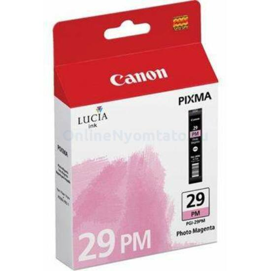 Canon PGI-29PM fotó magenta eredeti tintapatron
