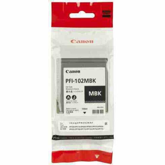 Canon PFI-102B fekete eredeti tintapatron