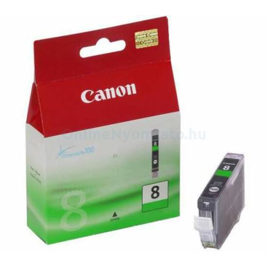 Canon CLI-8 zöld eredeti tintapatron