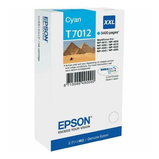 Epson T7012 kék eredeti tintapatron
