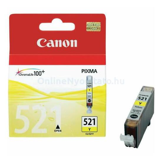 Canon CLI-521 sárga eredeti tintapatron