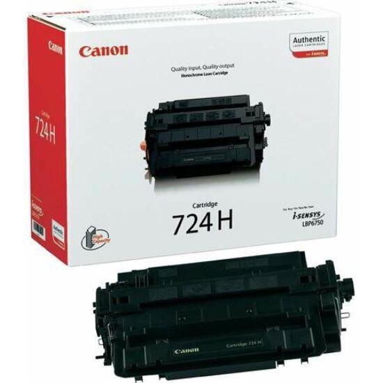 Canon CRG-724H fekete eredeti toner
