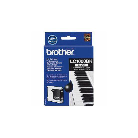 Brother LC1000 fekete eredeti tintapatron