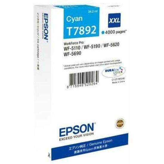 Epson T7892 kék eredeti tintapatron